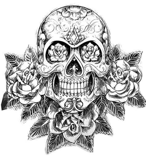 color skull tattoo designs dropbox coloring tatouage skull skeleton jpg skull l