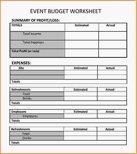 template for planning an event event planning worksheet template lesupercoin printables