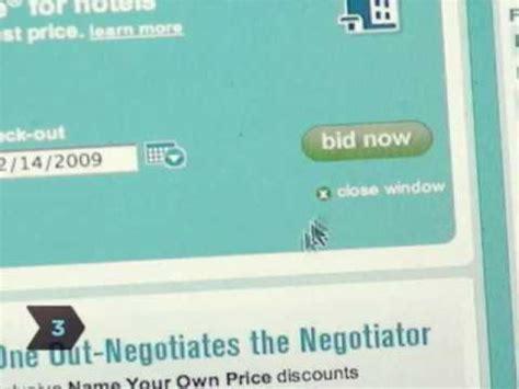 priceline bid how to bid on priceline