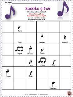 printable music sudoku this free download contains one 4 x 4 music symbol sudoku