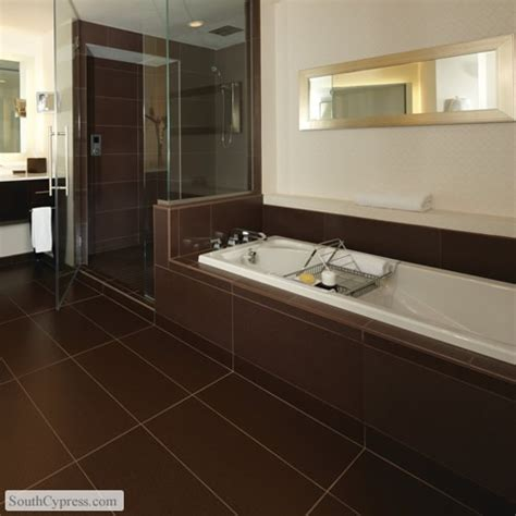 brown tile bathroom 33 best images about modern design on pinterest modern