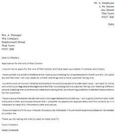 letter of application sle of application letter for