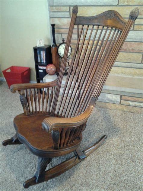 Big Rocking Chair In by Large Rocking Chair Collectors Weekly