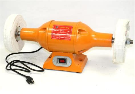 1hp bench grinder 8 quot long shaft 1hp top bench buffer polisher grinder