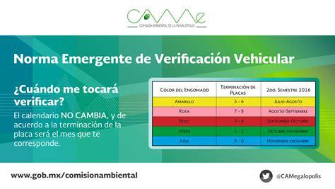 Presentan Calendario De Verificacin Vehicular 2016 Para | calendario de verificacin vehicular 2016 edomex este