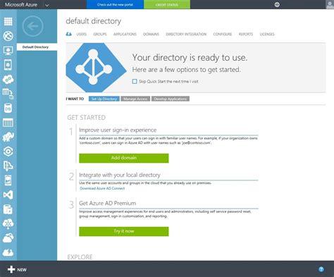 add  domain   microsoft azure directory
