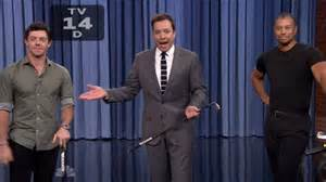 tiger woods watches rory mcilroy smashing jimmy fallon s