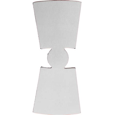 Unsewn Blank Foam Pint Glass Coolie Wholesale Coolies Pint Template