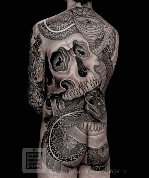 skull tattoo full body great whole body pictures tattooimages biz
