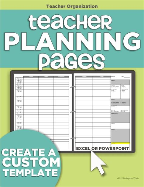 teacher organization 5 must have printables