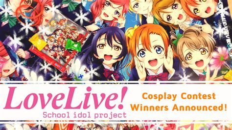 Menu For Winners Announced by Crunchyroll Forum Live Contest Winners