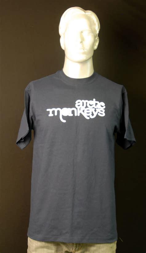 Arctic Monkeys White arctic monkeys white logo t shirt medium uk promo t