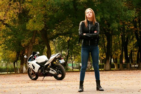 Motorradhelme Sterreich by Girl Motorcycle Leather Jacket 183 Free Photo On Pixabay
