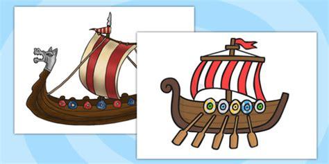 viking boats ks1 a4 viking ship cut out vikings ships history ks2 display
