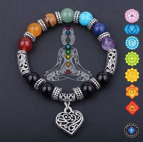 chakra reiki healing heart bracelet project