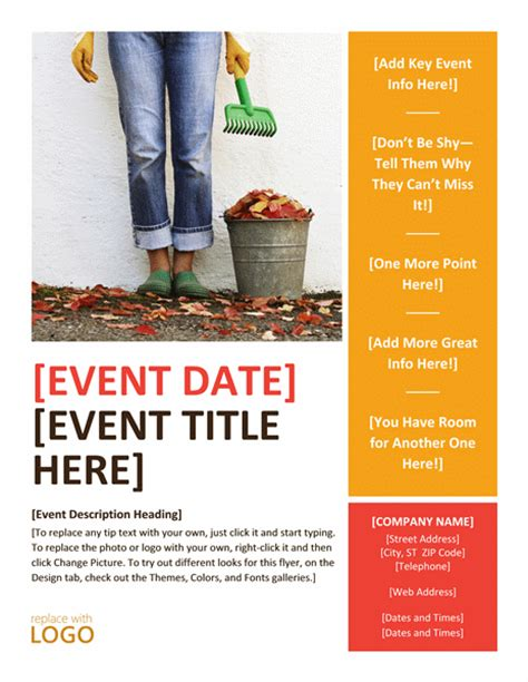 free event poster template 20 free event flyer templates for range of events demplates