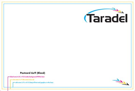 6x9 postcard template taradel eddm all inclusive templates