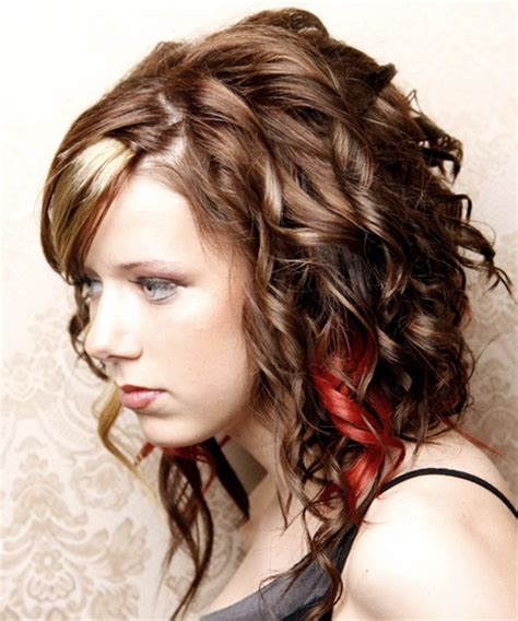 curly cute hairstyles for school easy curly hairstyles for school