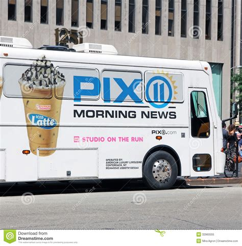 Morning News by Pix 11 Morning News Editorial Image Image 32960555