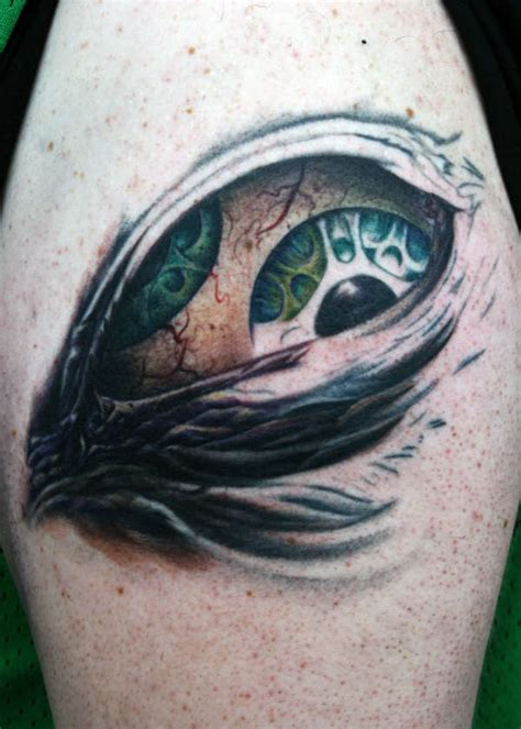 tool eye tattoo tool eye