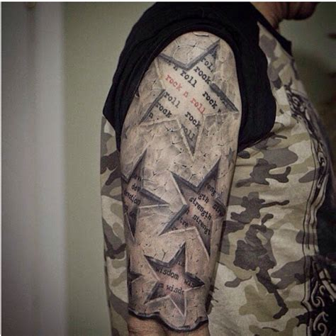 star tattoos for men on arm 50 best designs and ideas