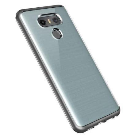 vrs design bumper lg g6 silver