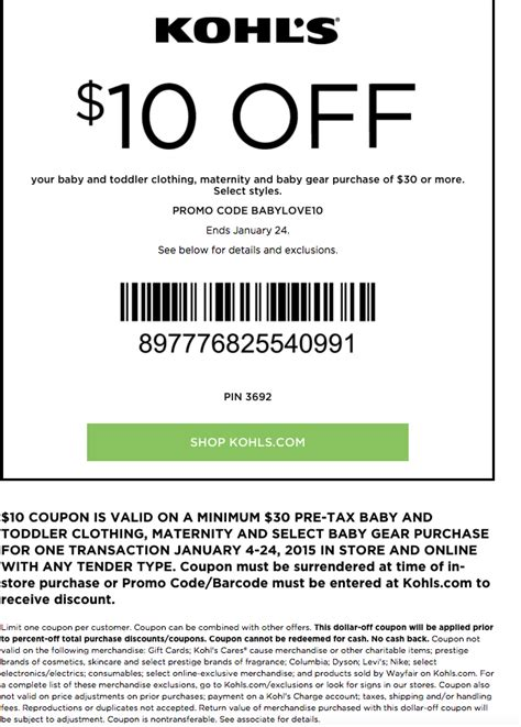 printable kohls coupons kohls coupons in store printable html autos post
