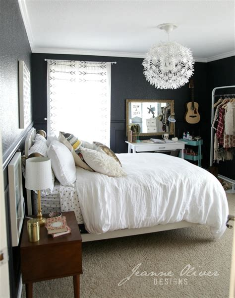 bedroom teenage girl amazing teen girl s bedroom makeover decoholic