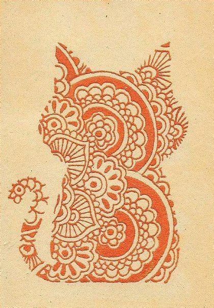 henna tattoo designs animals cat henna i need to get better at animals henna
