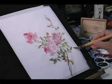Youtube Tutorial Paint | watercolor painting tutorial roses and butterfly youtube