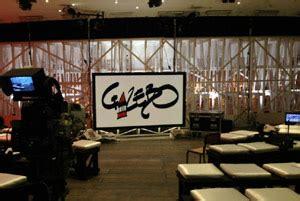 gazebo trasmissione tv il di tv 187 rai3