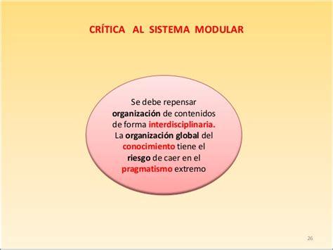 Modelo Curricular Modular Modelos Curriculares