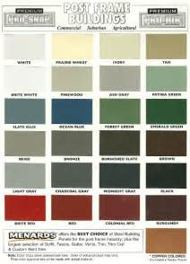 steel siding colors pin metal roof colors streamline roofing and construction