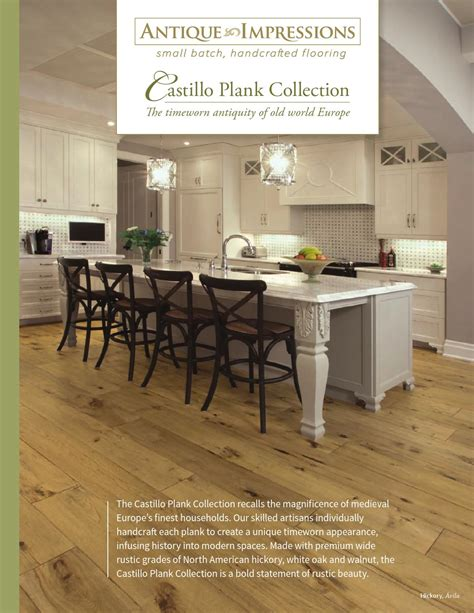 impressions home expo design antique impressions castillo plank collection by horner