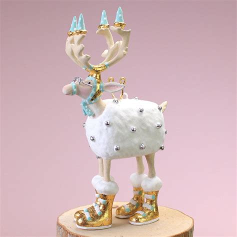 patience brewster mini moonbeam blitzen ornament
