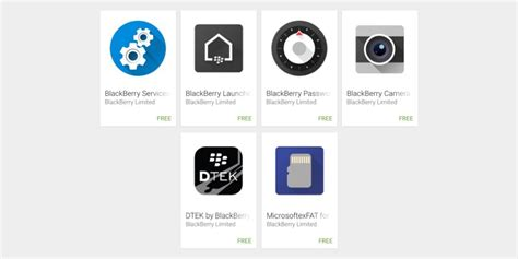Play Store Software Wide List Of Blackberry Apps Get Published On Play