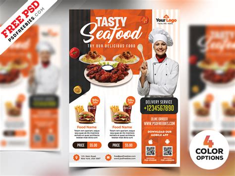 Restaurant Flyer Templates Free Psd By Psd Freebies Dribbble Dribbble Restaurant Flyers Templates Free