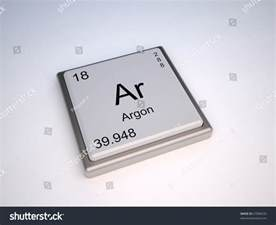 argon chemical element of the periodic table with symbol