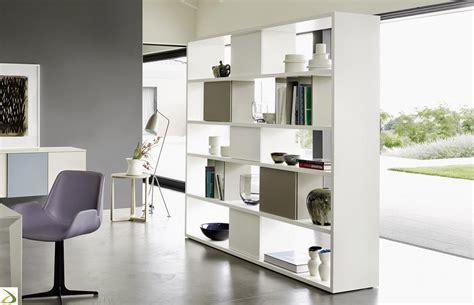 libreria divisoria bifacciale libreria soggiorno bifacciale marea arredo design