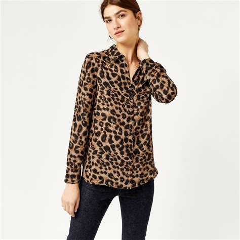 Animal Print Blouse by Leopard Print Shirt Warehouse