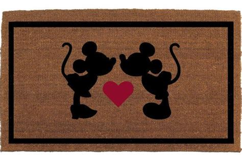Disney Mickey Mat - minnie minnie mouse disney door mat coir
