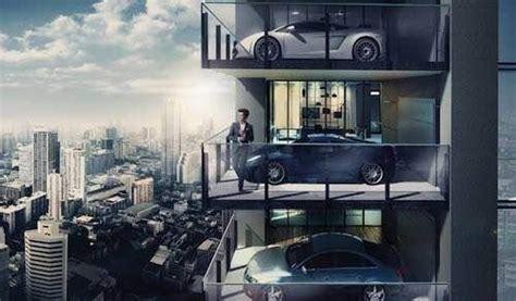 Bangkok Garage by Manspiration Living Sky Garages Urbasm