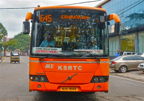 Ksrtc Low Floor Timings by Ksrtc Charges Unfair Fair For Volvo Buses From