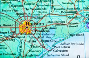 map of cities near houston houston map and surrounding cities