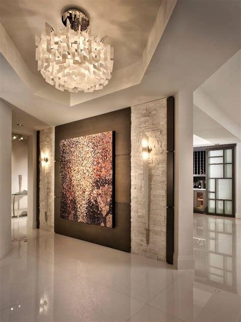 eclectic entryway with tilebar white quartz 24x24 tile - Foyer Quartz