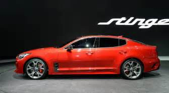 Kia Stinger Kia Stinger Official 0 100km H Power Outputs Confirmed