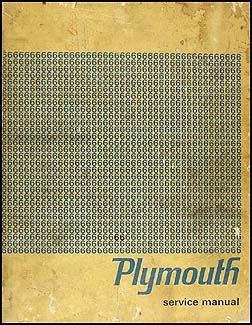 shop plymouth 1966 plymouth repair shop manual original