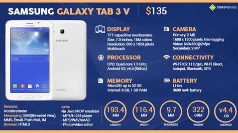 Samsung Tab Galaxy 3v facts samsung galaxy tab 3 v