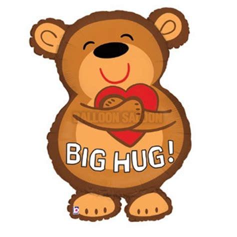 Anniversary amp love big hug bear balloon