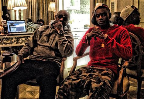 soulja boy shows off new quot rich gang quot face tattoo might be